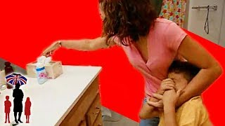 Mother Shoves Soap In Kid's Mouth - Supernanny