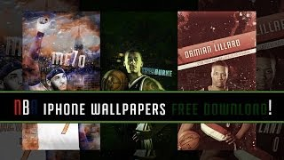 Speed Art | NBA Stars iPhone Wallpapers (Free Download)