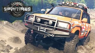 Spintires MP #15 - Off-roading the Landcruiser