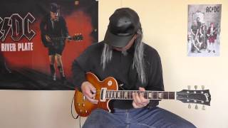 AC/DC - Some Sin For Nuthin' cover by RhythmGuitarX