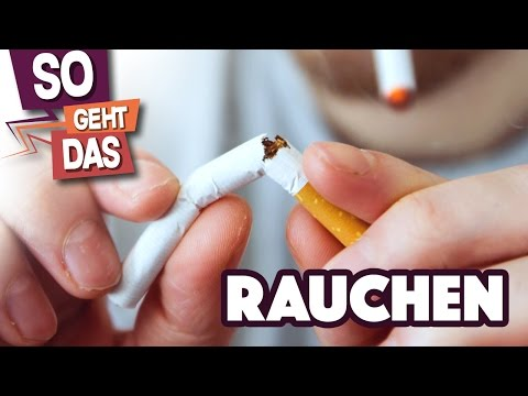 Bei der Behandlung von der Tollwut zu rauchen