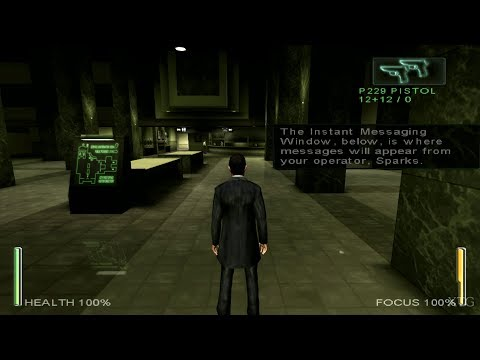 Gameplay de Enter The Matrix