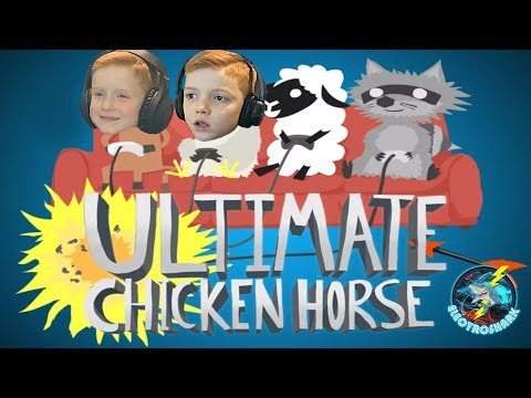 Bro Vs Bro - Ultimate Chicken Horse Head to Head(First Play)