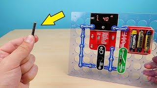 Измеряем звук от взрыва Петарды и температуру кипящей воды! Конструктор Знаток Супер-Измеритель!