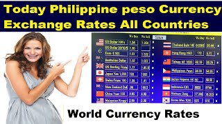 today's currency exchange rate  philippine peso All Countries l saudi riyal to philippine peso
