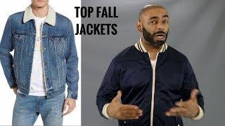 10 Best Men's Fall Jackets/ 10 Most Stylish Fall Men's Jackets