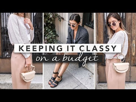 How to Dress Classy and Look Good on a Budget Simple Tips | by Erin Elizabeth