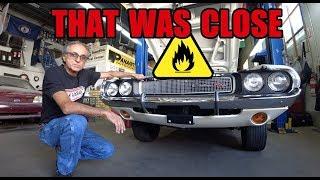 I Nearly Burned My 1970 Challenger - Kowalski First Start