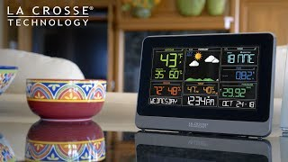 Wi-Fi Professional Weather Station with AccuWeather Forecast