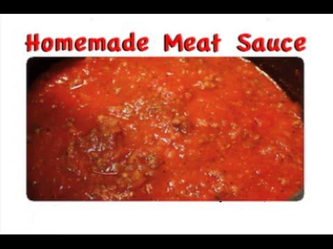 Homemade Meat Sauce Recipe – Freezer Meals- I Heart Recipes