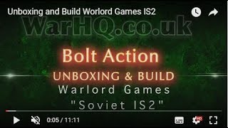 Unboxing  and Build Worlord Games IS2