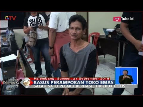 1 dari 3 Pelaku Perampokan Toko Emas di Palembang Berhasil Ditangkap Polisi - BIS 21/09