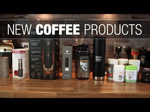 Showing Off Some New Coffee Products