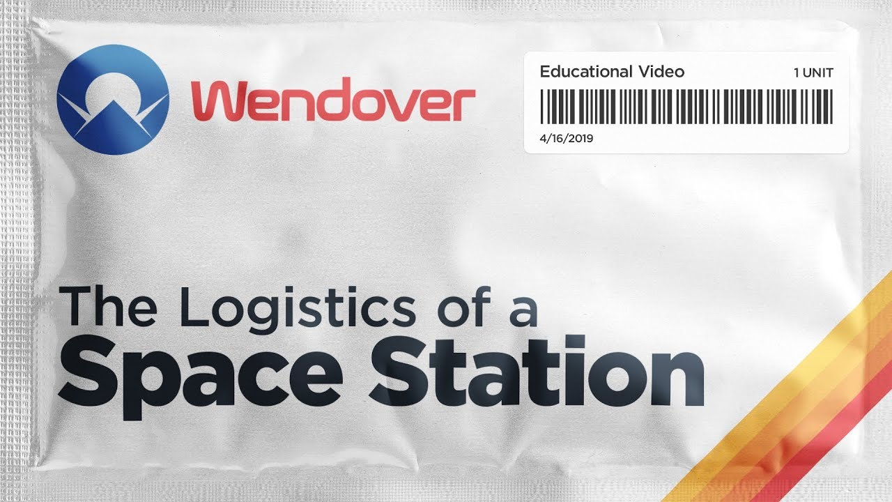 Video: Supplying the International Space Station by @Wendoverproductions