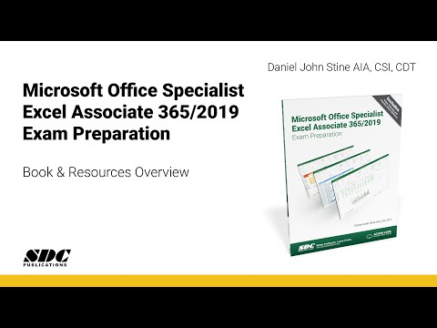 Overview of the Microsoft Office Specialist Excel Associate 365/2019 ...