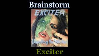 Exciter - Brainstorm - Lyrics / Subtitulos en español (Nwobhm) Traducida