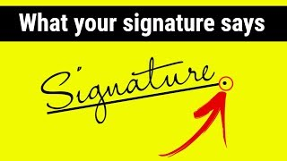 What your handwriting says about you   Graphology Signature analysis in Hindi   signature says about