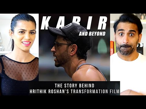 KABIR AND BEYOND | Hrithik Roshan's Transformation | The HRX Story REACTION!!