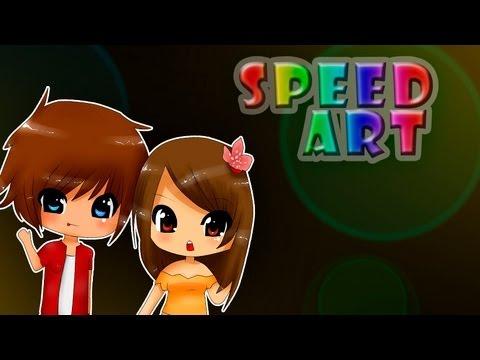 Speed Art [BoomBot & ScarFoxy] #90