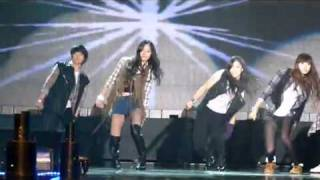 [FANCAM] 09.10.07  f(x) - Intro Dance - The Jump Off + Freeze @ MTV Hear the sound