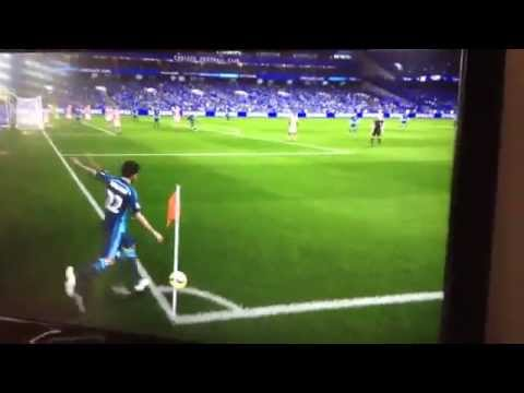 Sick FIFA 15 Goal! - From corner!!!