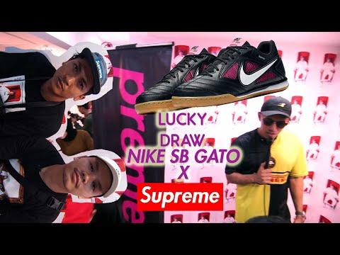 LUCKY DRAW NIKE SB SUPREME GATO - Altimet X Preme KL Meet & Greet - Unboxing PremeKL goodies