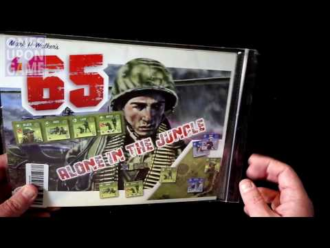 '65: Alone in the Jungle Solo Expansion Unboxing by Ones Upon a Game