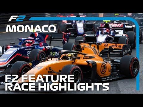 Formula 2 Feature Race Highlights   2019 Monaco Grand Prix