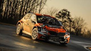 Test before Rally Barbórka 2019 (Day 2 - Tor Modlin) - Chwietczuk / Hinz - Skoda Fabia R5 evo