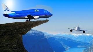 АЭРОПОРТЫ Которых БОЯТСЯ даже Самые ОПЫТНЫЕ Пилоты! Глазами Пилота Самолета
