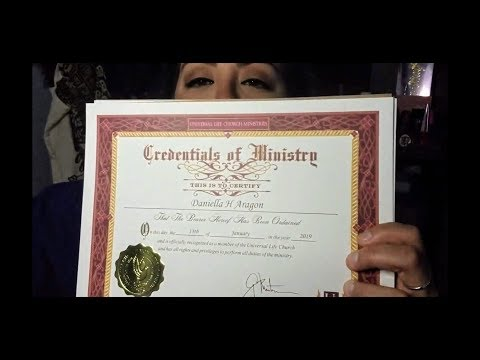 I BECAME AN ORDAINED MINISTER & I OFFICIATED MY BEST FRIEND'S WEDDING!