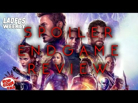 LAOFCS Weekly: Avengers: Endgame Spoiler Review, Favorite Avengers, & the Best Marvel Movies