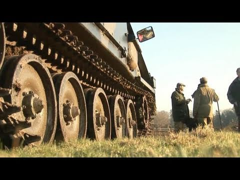 Fieldsports Britain – Driven partridge with a tank, wildfowling and lamping