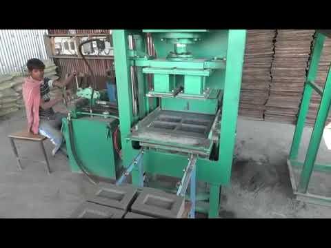 Semi Automatic 4 CVT Brick Making Machine