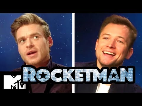 Rocketman Gay Sex Scene: Taron Egerton & Richard Madden Talk Intimacy