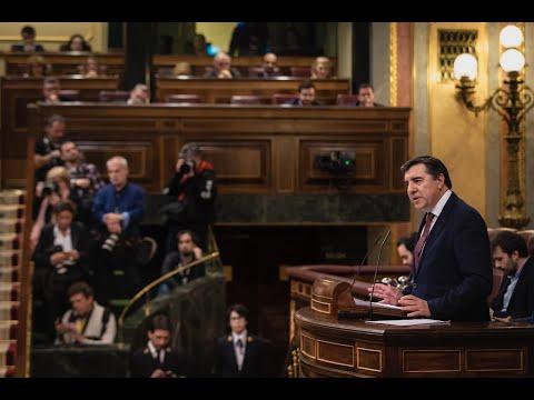 Intervención de José Antonio Bermúdez de Castro en el Congreso de los Diputados