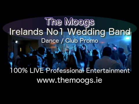 Wedding Bands Ireland – The Moogs – Promo – (Club -Set)