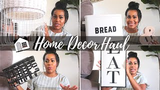 HOME DECOR HAUL | TIPS ON DECORATING YOUR HOME | HOME GOODS WALMART & TARGET | CRISSY MARIE