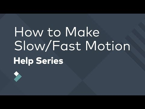 How to Reverse Video, Freeze Frame, & Make Slow / Fast Motion Effects  |  Filmora Tutorial