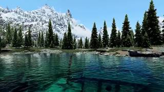 Skyrim:Лучший мод на графику,Natural Lighting and Atmospherics ENB