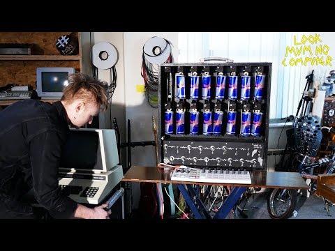 Solenoid Drum Machine the XA-20 Loading New Samples