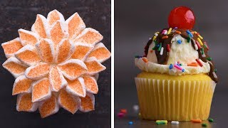 21 Clever and Stunning Cupcakes! | Delicious Animal and Flower Cupcakes by So Yummy