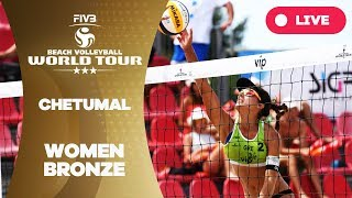 Chetumal 3-Star - 2018 FIVB Beach Volleyball World Tour - Women Bronze Medal Match