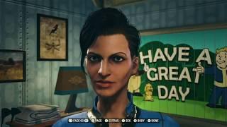 FALLOUT 76 - Character Creation & Customization Gameplay