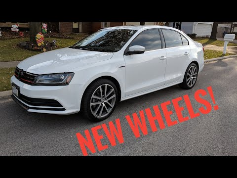 MK6 Jetta TDI Gets New Wheels !
