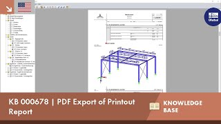 KB 000678 | PDF Export of Printout Report