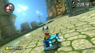 Thwomp Ruins - 1:47.361 - SnS(~˙˘˙)~ (Mario Kart 8 World Record)