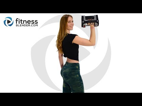 Shoulders, Back, Chest and Arm Workout for Strong Toned Upper Body