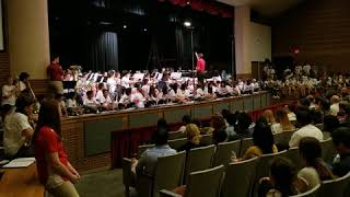 Disney at the Movies, Coppell Middle School North, Dir. Jeremy Lindquist, Spring 2018
