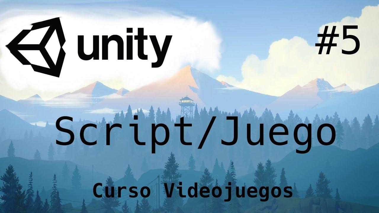 Primer Script/ Juego/Unity Tutorial 2020/5-Capitulo/Programacion de Videojuegos